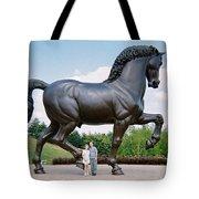 Under Leonardo's Horse Tote Bag