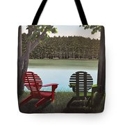 Under Muskoka Trees Tote Bag