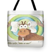 Under Or Over Tote Bag