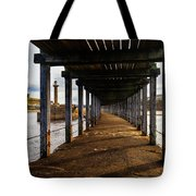 Under-section Below The West Pier Tote Bag