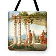 Under The Arbour Tote Bag