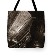 Under The Balcony Tote Bag