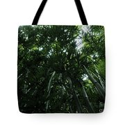 Under The Bamboo Haleakala National Park  Tote Bag