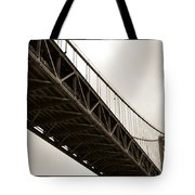 Under The Bay Bridge Tote Bag