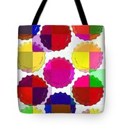 Under The Blanket Of Colors Tote Bag