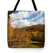 Under The Bluff Tote Bag