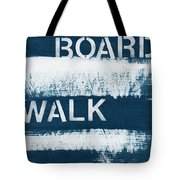 Under The Boardwalk Tote Bag by Linda Woods