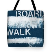 Under The Boardwalk Tote Bag