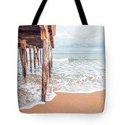 Under The Boardwalk Salsibury Beach Tote Bag