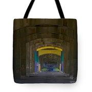 Under The Bridge   #1247 Tote Bag