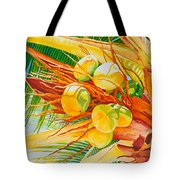 Under The Coconut Palm Tote Bag