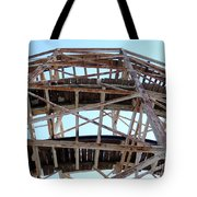 Under The Cyclone Tote Bag
