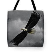 Under The Double Eagle Tote Bag