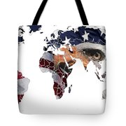 Under The Eagles Eyes Tote Bag