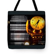 Under The Famous Clock Tote Bag