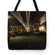 Under The Flyover  Tote Bag