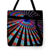 Under The Giant Wheel Tote Bag by Mark Miller