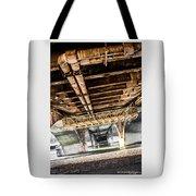Under The Golden Bridge Tote Bag