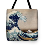 Under The Great Wave Off Kanagawa Tote Bag