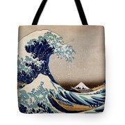 Under The Great Wave Off Kanagawa Tote Bag