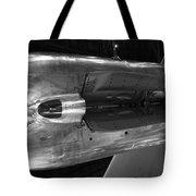 Under The Jet Engine Tote Bag
