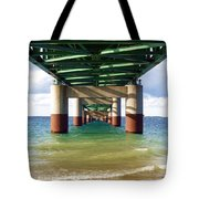 Under The Mighty Mac Tote Bag
