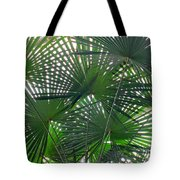Under The Palm Tree Tote Bag
