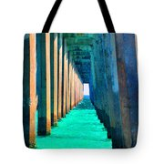 Under The Pier Too Tote Bag