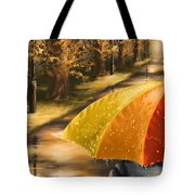 Under The Rain Tote Bag