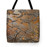 Under The Red Sea II Tote Bag