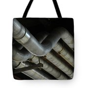 Under The Riverfront 1 Tote Bag