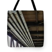 Under The Riverfront 3 Tote Bag