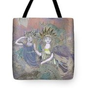 Under The Sea Tote Bag by Amelia Carrie