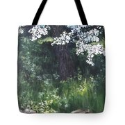 Under The Shade Of The Almond Blossom Tote Bag