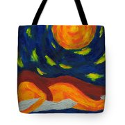 Under The Sky Tote Bag