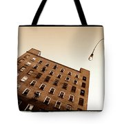 Under The Street Lamp Tote Bag