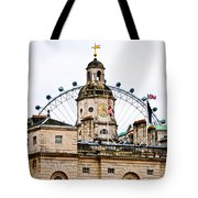 Under The Watchful Eye At Horse Guards Tote Bag