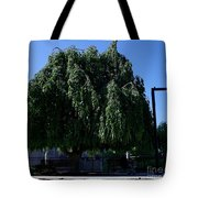 Under The Weeping Tree Tote Bag