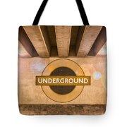 Underground Underground Tote Bag