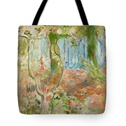 Undergrowth In Autumn Tote Bag