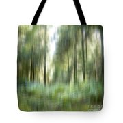 Undergrowth In Spring.  Tote Bag