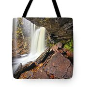 Underneath The B Reynolds Waterfall Tote Bag