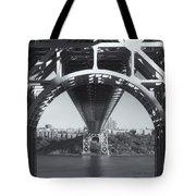 Underneath The George Washington Bridge Iv Tote Bag