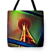 Underneath The Space Needle Tote Bag