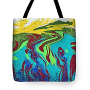 Undersea Shadows Tote Bag