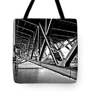 Underside Of The Burnside Bridge Tote Bag
