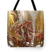 Undertake Tote Bag by Karina Llergo