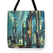 Underwater Cathedral By Chris Tote Bag