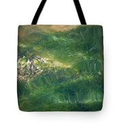 Underwater Grass Tote Bag