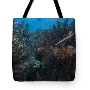 Underwater Rain Forest Tote Bag